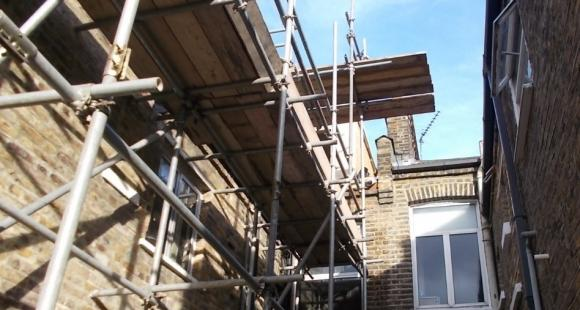 Party Wall scaffold