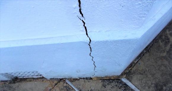 Subsidence crack Dec 18