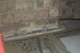 Chimney breast removed without support