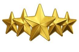 Five star award icon